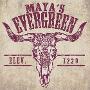 Restaurant logo for Maya's Cantina & Grill