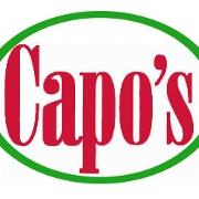 This is the restaurant logo for Capo's NY Pizza & Italian Ristorante