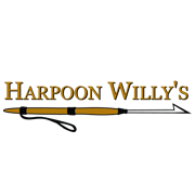 This is the restaurant logo for Harpoon Willy's