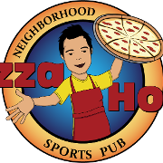 This is the restaurant logo for Pizza Hoss