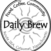 This is the restaurant logo for The Daily Brew