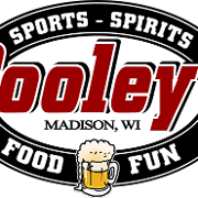 This is the restaurant logo for Pooley's Sports Bar and Event Center