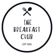 This is the restaurant logo for The Breakfast Club Cafe & Coffee Roastery