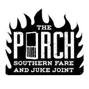 This is the restaurant logo for The Porch Southern Fare & Juke Joint
