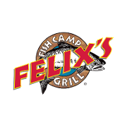This is the restaurant logo for Felix's Fish Camp