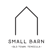This is the restaurant logo for Small Barn