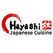 This is the restaurant logo for Hayashi