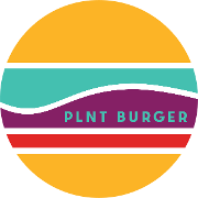 This is the restaurant logo for PLNT Burger