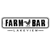 This is the restaurant logo for Farm Bar