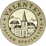 This is the restaurant logo for Valente's Italian Specialties