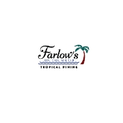 This is the restaurant logo for Farlow's On The Water