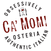 This is the restaurant logo for Ca' Momi Osteria