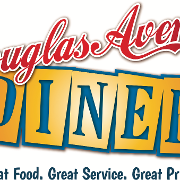 This is the restaurant logo for Douglas Avenue Diner