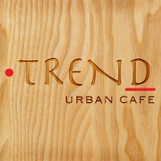 This is the restaurant logo for Trend Urban Cafe