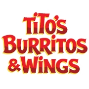 This is the restaurant logo for Tito's Burritos & Wings