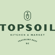 This is the restaurant logo for Topsoil Kitchen and Market