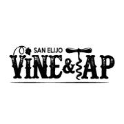 This is the restaurant logo for San Elijo Vine & Tap