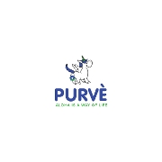 This is the restaurant logo for Purvé Donut Stop