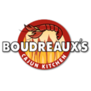 This is the restaurant logo for Boudreaux's Cajun Kitchen