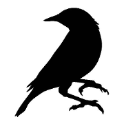 This is the restaurant logo for Blackbird Doughnuts®