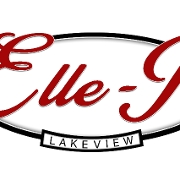 This is the restaurant logo for Elle-J's Lakeview