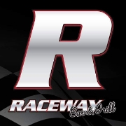 This is the restaurant logo for Raceway Bar and Grill