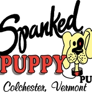 This is the restaurant logo for Spanked Puppy