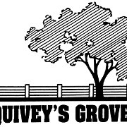 This is the restaurant logo for Quivey's Grove