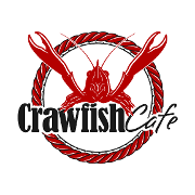 This is the restaurant logo for Crawfish Cafe