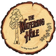 This is the restaurant logo for The Watering Hole