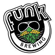 This is the restaurant logo for Funk Brewing
