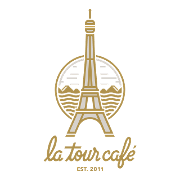 This is the restaurant logo for La Tour Cafe