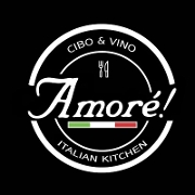 This is the restaurant logo for Amore Italian Kitchen