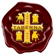 This is the restaurant logo for Taberna Tapas Bar