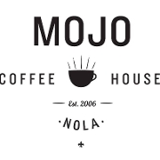 This is the restaurant logo for Mojo Coffee House