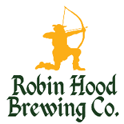 This is the restaurant logo for Robin Hood Brewing Co.