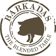 This is the restaurant logo for Barkadas