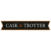 This is the restaurant logo for Cask & Trotter