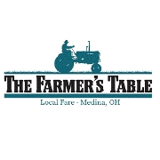 This is the restaurant logo for The Farmer's Table