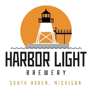 This is the restaurant logo for Harbor Light Brewery