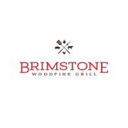This is the restaurant logo for Brimstone Woodfire Grill