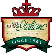 This is the restaurant logo for V's Italiano Ristorante