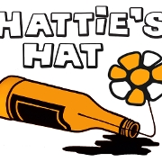 This is the restaurant logo for Hattie's Hat
