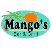 This is the restaurant logo for Mango's Bar & Grill