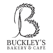 This is the restaurant logo for Buckley's Bakery Cafe