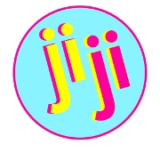 This is the restaurant logo for jiji frozen custard