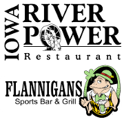 This is the restaurant logo for IRP & Flannigans