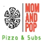 Restaurant logo for Mom & Pop Pizza & Subs