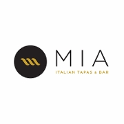 This is the restaurant logo for Mia Italian Tapas & Bar