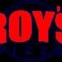 Restaurant logo for Roy's Pizza